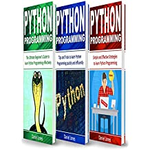 Python Programming: 3 Books in 1- The Ultimate Beginner's Guide to Learn Python Programming Effectively + Tips and Tricks to learn Python Programming+ Strategies( Python Programming) (English Edition)