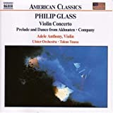 Glass, philip violin concerto