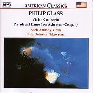 Glass, philip violin concerto