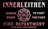 qy7510-r INNERLEITHEN Fire Dept Fireman Gift Home Decor Neon Light Sign