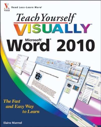 Teach Yourself VISUALLY Word 2010 by Marmel, Elaine (2010) Paperback