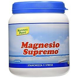 Natural Point Magnesio Supremo Solubile – 300 g, polvere