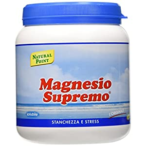 Natural Point Magnesio Supremo Solubile - 300 g, polvere 2 spesavip