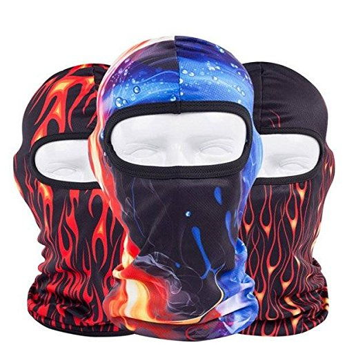 Preisvergleich Produktbild mark8shop CS Motorrad Radfahren Sturmhaube Neck Ski Face Maske keine. 41–47