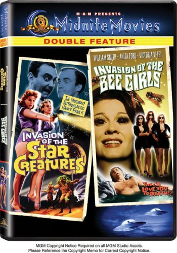 Invasion of the Star Creatures / Invasion of the Bee Girls (Midnite Movies Double Feature) by Robert Ball Bee Girl