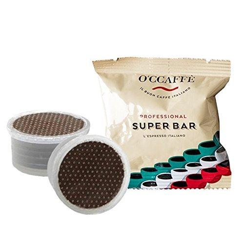 O\'ccaffe Super Bar FAP Capsule | qualità barista di un\'azienda italiana | compatibili com Lavazza Espresso Point | 100 pezzi