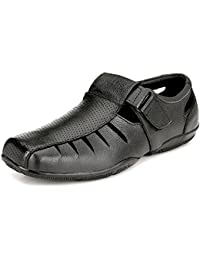 Leather Zone Men's Pure Leather Sandals