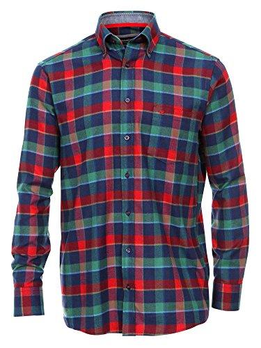 CASAMODA Herren Businesshemd 431879000 Regular Fit bügelleicht Grün