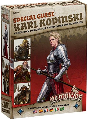 Zombicide: Black Plague - Special Guest: Karl Kopinski (Edge Entertainment EDGBP008)