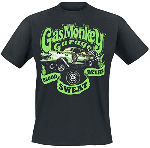 Gas Monkey Garage T-Shirt Gasser, Farbe:black;Größe:3XL