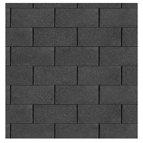 Bitumen Dachschindeln Farbe schwarz 3 m² von Gartenpirat