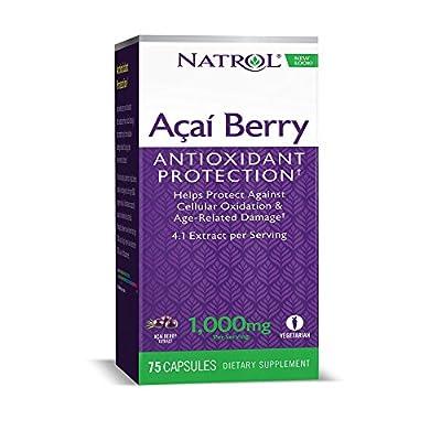 Natrol Acai Berry 1,000mg (60 Vegetarian Capsules) from Natrol