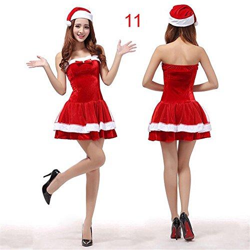 Santa Halloween Kostüme (20 Models M?nner & Frauen Fr?ulein Sexy Santa Damen)
