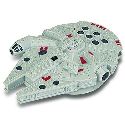 Giochi Preziosi - Star Wars Il Risveglio della Forza - Astronave Millenium Falcon con Radiocomando, Lunghezza 14 cm