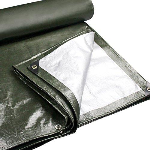 DS-bâche Bâche - Polyéthylène Épaississant Étanche Résistant Au Soleil Parce Auvent Extérieur De Camion 180g / m², 22 Tailles, ArmyGreen&& (taille : 2X3m)