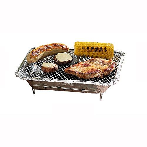 51p4 U280oL - BBQ Grillgeräte -Bar-Be-Quick Instant-Holzkohle-Grill - Schnell Instant Grill barbecue - Garantie: Heiße Fleisch (35x23,5 h 2,5 cm)