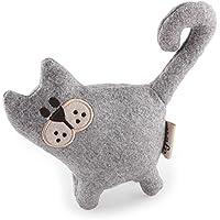 Katzenspielzeug Katze mit Katzenminze Vintage Pet - Cutzy Cat - grau