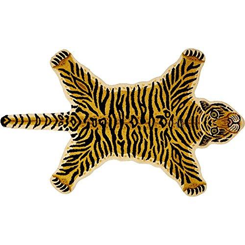 Alfombra Infantil con forma de Tigre Articulo Preferido (aprox. 90 x 150cm) Spiegelburg
