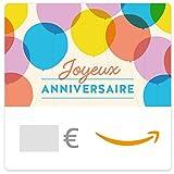 Chèque-cadeau Amazon.fr - E-mail - Ballons d'anniversaire...