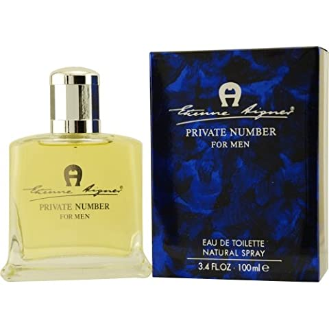 AIGNER PRIVATE NUMBER by Etienne Aigner EDT SPRAY 3.4 OZ