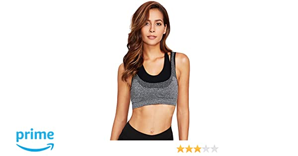 1ccb8b0aaba10 GRAPPLE DEALS Women s Cotton Underwire Padded Seamless Sports Bras  (1516 Grey01