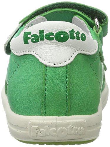 Falcotto Falcotto 1239, Chaussures Bébé marche bébé garçon Grün (gruen)