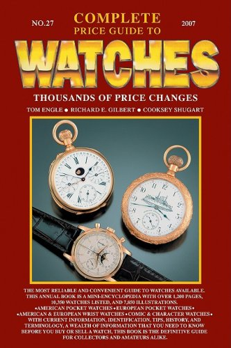 Complete Price Guide to Watches par Tom Engle