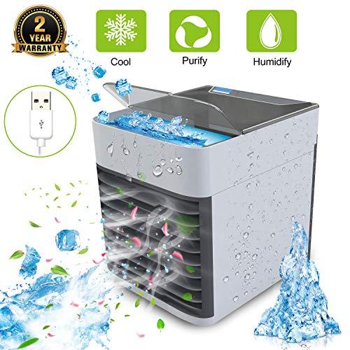 Enfriador de aire | Mini aire acondicionado | Aire acondicionado portátil 3...