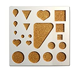 Good Quality Plastic Quilling Mould Stencil - For Creating Various Shapes of Quilling Paper Strips - Medium Size