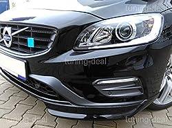 V60 S60 Spoiler Flaps Frontspoiler R-Design Look
