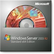 Windows Server Standard 2003 OEM R2 SP2 - 1 server 1-4CPU 5 Clients Anglais