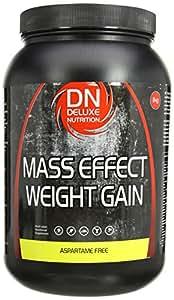 Deluxe Nutrition Mass Effect Weight Gainer Chocolate Whey Protein Casein Glutamine 1kg