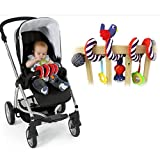 1PCS Activity Stroller Car Seat Cot Lathe Hanging Babyplay Travel Toys Newborn Baby Rattles Infant Toys