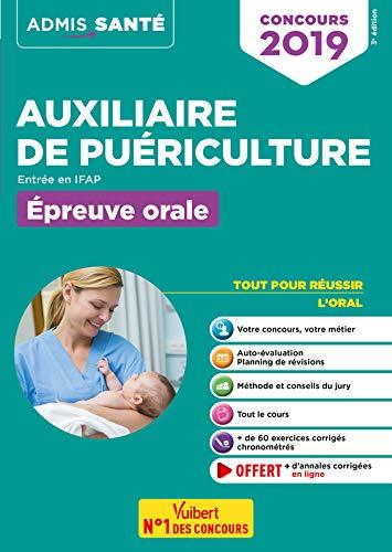 Concours Auxiliaire de puériculture - Entrée en IFAP - Épreuve orale - Concours 2019