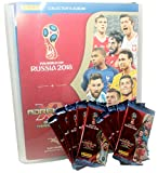 Unbekannt FIFA World Cup Adrenalyn XL 2018 - 1 Leere Sammelmappe + 10 Booster