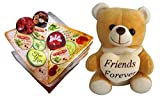 Friends Forever Teddy With Sandwich Shap...