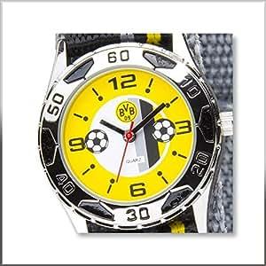 BVB 09 Borussia Dortmund Kinder Quarzuhr Armbanduhr Geschenk