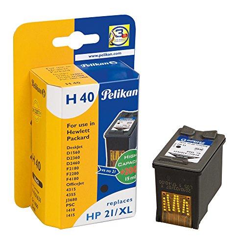 Pelikan H40 Druckerpatrone (ersetzt HP 21XL C9351CE) schwarz (Stehen Office-drucker)