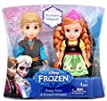 Disney Frozen 6-inch Anna and Kristoff Toddler Doll de Tolly tots