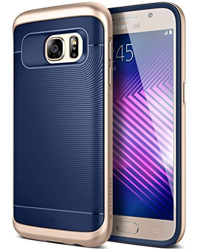 Caseology Funda Galaxy S7, [Serie Wavelength] Protectora Doble Capa Texturizada con Ajuste de Precision y sujecion Segura [Rosado - Pink] para Samsung Galaxy S7 (2016)