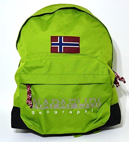 Mochila Napapijri Geographic americano Hack Backpack piquant green verde
