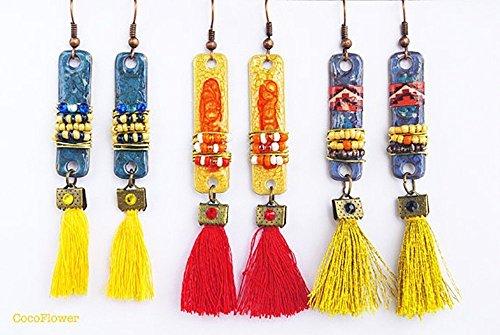 metal-bar-tassel-earrings-seed-beaded-navajo-southwestern-native-american-indian-style-jewelry-ethni