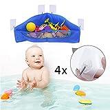 BrilliantDay Perfektes großes Bad Spielzeug Netz für Badewanne Spielzeugnetz &