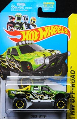 Wheels 135/250(grün) Fahrzeug (Hot Wheels Sandblaster)