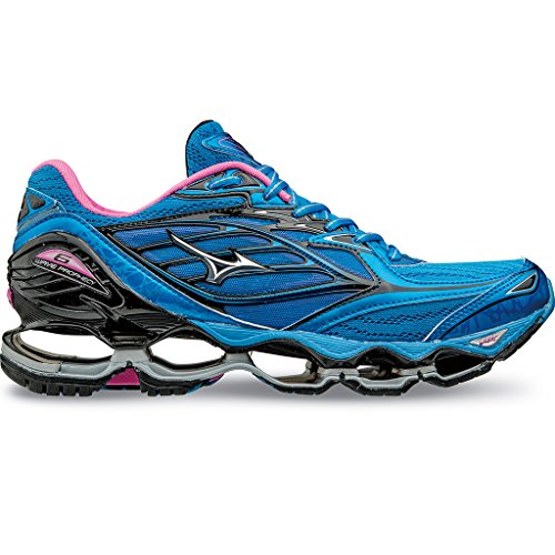 Mizuno WAVE PROPHECY 6, Scarpe running donna, DivaBlue/Silver/Electric DivaBlue/Silver/Electric