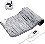 Innoo Tech Heating Pad Electric for Back Neck and Shoulder, 6 Electric Temperature Options, 4 Temperature Sett
