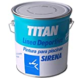 TITAN - Pintura piscinas sirena mate azul oceano 4l