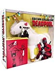 Deadpool 1+2 [Blu-ray] Marvel Steelbook Plüsch Einhorn+Poster (Import, Deutscher 5.1 Ton)