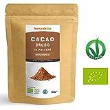 Cacao Crudo Biologico in Polvere da 900g | 100% Bio, Naturale e Puro | Prodotto in Perù dalla Pianta Theobroma Cacao | Superfood Ricco di Antiossidanti, Minerali e Vitamine | Ideale per Frullati, Bevande, Ricette dolci, Biscotti o nel Latte | Adatto a Diete Vegetariane e Vegane | Busta salva Freschezza da 900g | NATURALEBIO