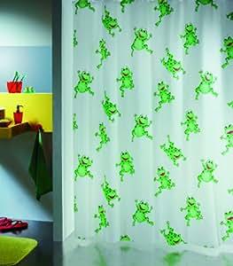 Spirella frogtime green 1006487 tenda per doccia con rane for Spirella accessori bagno